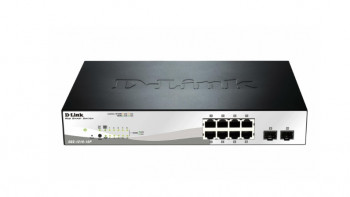 Switch PoE GB 8 порт., 8xPoE DGS-1210-10P D-LINK