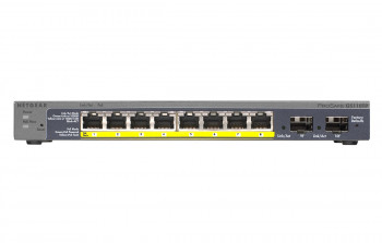 Switch PoE GB 8 порт., 8xPoE GS110TP NETGEAR