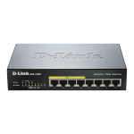 DGS-1008P D-LINK Switch PoE GB 8 портов, 4xPoE